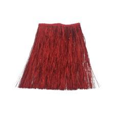 Kırmızı Simli İp Saçak - 1 Metre