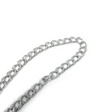 Rulo Zincirler - Pütürlü Gümüş 6.91mm