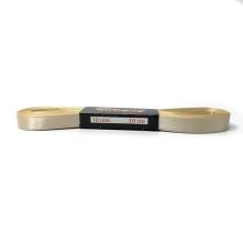 Saten Kurdele - 1cm Kenarlı Sarı Gold 25 Adet