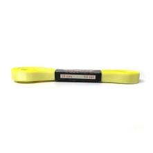 Saten Kurdele - 1cm Kenarlı Sarı 25 Adet