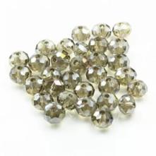 10 mm  Kristal Boncuk - çin camı - bal köpüğü