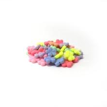 Plastik Boncuk - Papatya Model