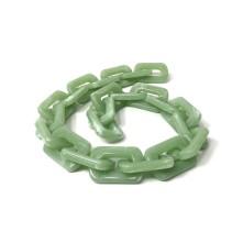 Çubuk Döküm Geçmeli Zincir - Yeşil - 1 adet