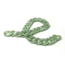 Çubuk Döküm Geçmeli Zincir - Açık yeşil