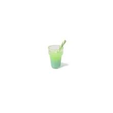 Mini Kokteyl Bardağı - Kolye Ucu - Yeşil
