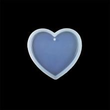 20 adet Kalp Reçine Epoksi Kalıbı