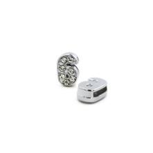 Taşlı Rakam - Kulpsuz  Gümüş - 6