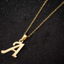 Metal Harfler - Kulplu Gold  - A