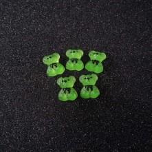 Anahtarlık 1 ADET - Jelibon Ayıcık Kolye Ucu - Yeşil