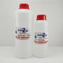 4500 ML - Kristal Epoksi Reçine Sıvı Cam Maddesi