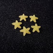Yıldız Jelibon  Boncuk - 1adet - Sarı