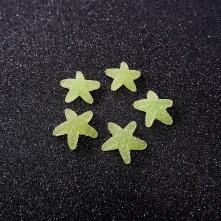 Yıldız Jelibon Boncuk - 1adet - Yeşil