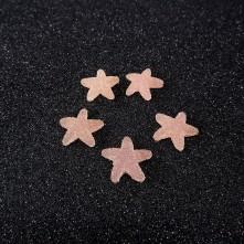 Yıldız Jelibon Boncuk - 1adet - Pembe