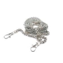 Örme Çanta Zinciri Gümüş - 1 adet - 6 mm