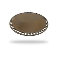 Ahşap Çanta Tabanı - 30x30 - Yuvarlak - Kahverengi - 1 adet