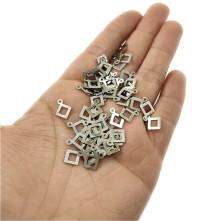 Metal Pirinç Pul - M289 - 10x12 mm - 50 gr