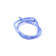 Doğal Sedef Yuvarlak Kesim Boncuk - 4mm - Mavi&Lacivert