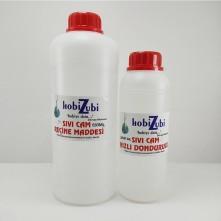 Epoksi Reçine Sıvı Cam Maddesi - 1000  ML